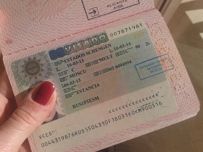 Виза в Испанию 2019 для россиян — документы, стоимость, образец оформления визы в Испанию