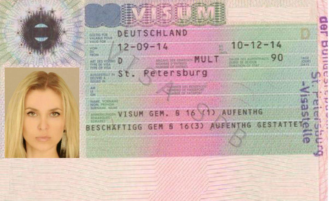 представляю, фотография на немецкую визу дракулы можно