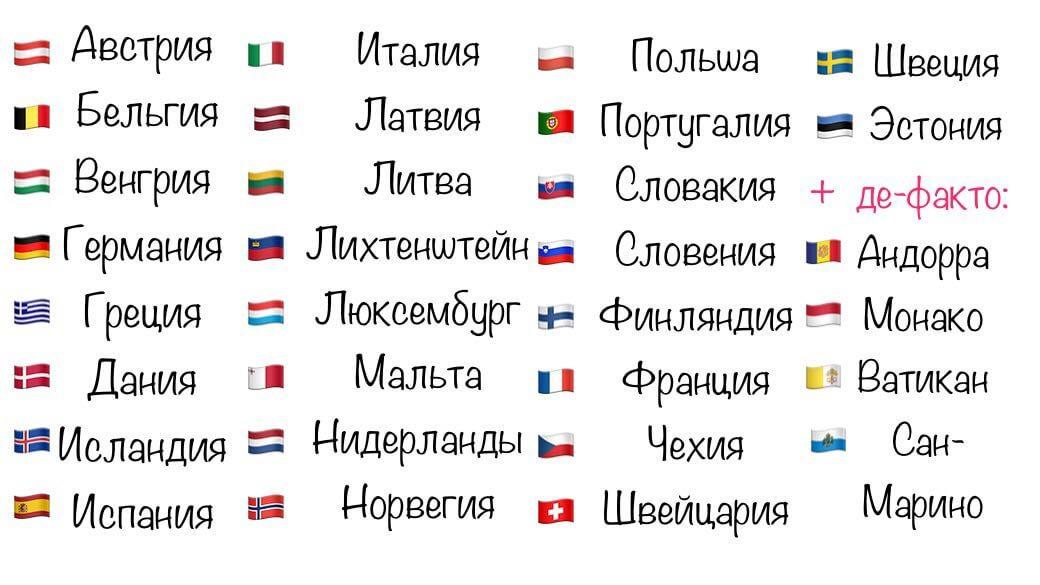 Безвизовые страны 2020 г. для россиян (весь список цены на туры)